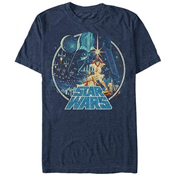 Star Wars Graphic Tshirt 1 Men's Vintage Victory Graphic T-Shirt