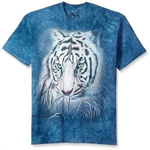 The Mountain Graphic Tshirt 1 Men's Thoughtful White Tiger Tee