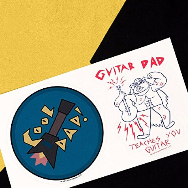 Popfunk Graphic Tshirt 6 Steven Universe Greg Star Cartoon Network T Shirt & Stickers