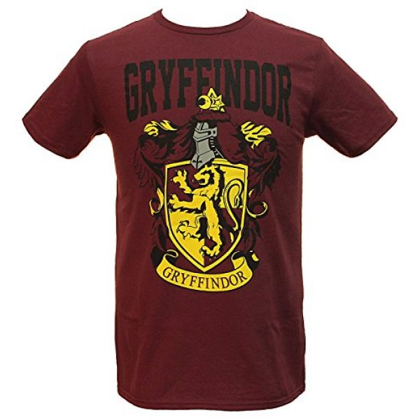 Bioworld Graphic Tshirt 1 Harry Potter Gryffindor House Crest Men's T-Shirt