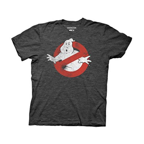 Ripple Junction Graphic Tshirt 1 Ghostbusters Distressed No Ghost No Type Adult T-Shirt