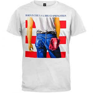 Old Glory Graphic Tshirt 1 Bruce Springsteen - Born in The USA T-Shirt
