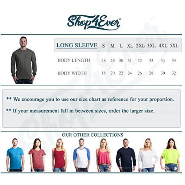 Shop4Ever Graphic Tshirt 5 Trump 2020 American Flag Long Sleeve Shirt Political Shirts