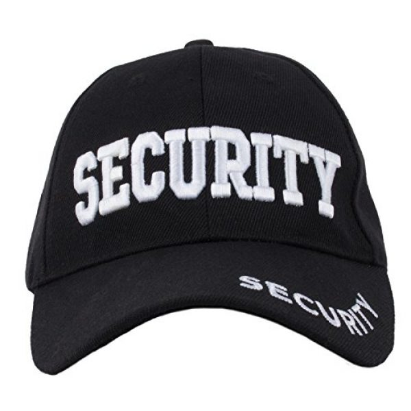 Ann Arbor T-shirt Co. Graphic Tshirt 5 Security Hat & T-Shirt Bundle | Matching Security Guard Officer Uniform Kit