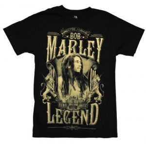 Bob Marley Graphic Tshirt 1 Men's Legend T-Shirt