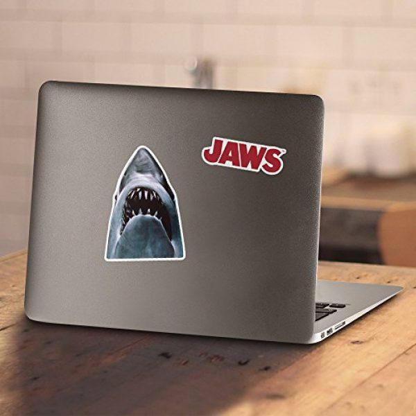 Popfunk Graphic Tshirt 4 Jaws Shark Original Movie Poster T Shirt & Stickers