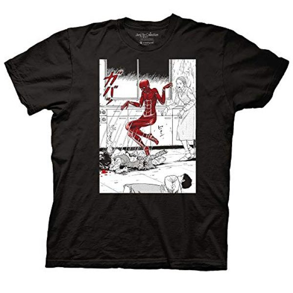 Ripple Junction Graphic Tshirt 1 Junji Ito Adult Unisex Popping Out of Skin Light Weight 100% Cotton Crew T-Shirt