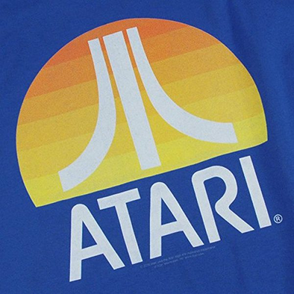 Popfunk Graphic Tshirt 5 Atari Video Game Retro Logo Vintage Gaming Console T Shirt & Stickers