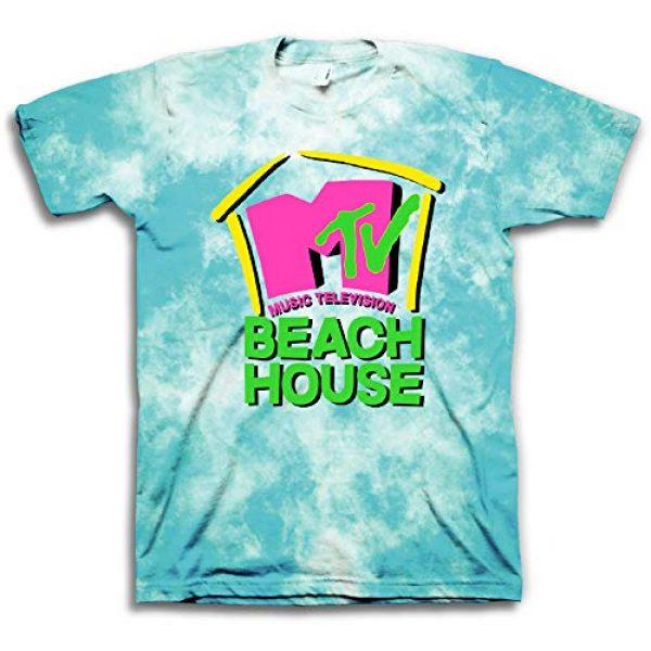 MTV Graphic Tshirt 1 Mens Tie Dye Shirt - #TBT Mens 1980's Clothing - I Want My T-Shirt