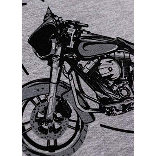 Ann Arbor T-shirt Co. Graphic Tshirt 5 My Retirement Plan (Motorcycle) | Funny Biker Riding Rider Retired Man T-Shirt