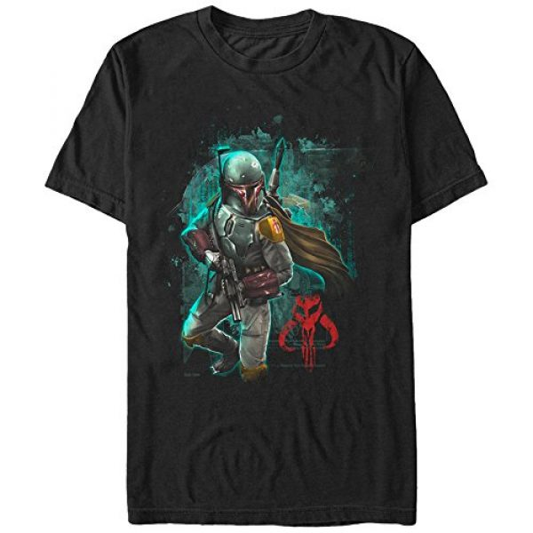 Star Wars Graphic Tshirt 1 Men's Mandalorian Warrior Graphic T-Shirt