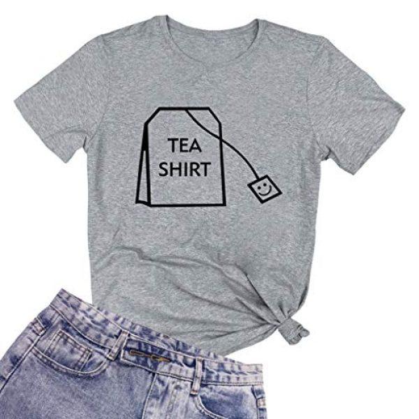 BLACKOO Graphic Tshirt 1 Teen Girl Funny T Shirts Women Cute Tops Junior Graphic Tee