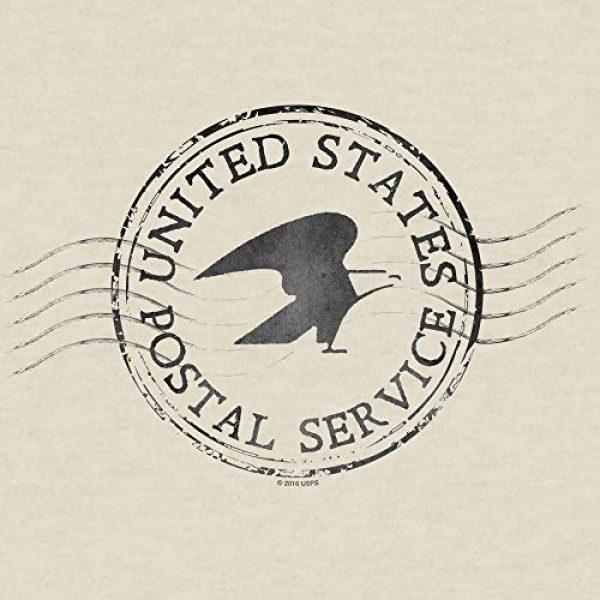Tee Luv Graphic Tshirt 2 United States Postal Service T-Shirt - Eagle Logo Mail Shirt