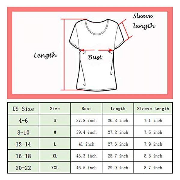 Popshion Graphic Tshirt 3 Valentine's Day Heart Printed T Shirt St. Patrick's Day Women Shamrock Blouse