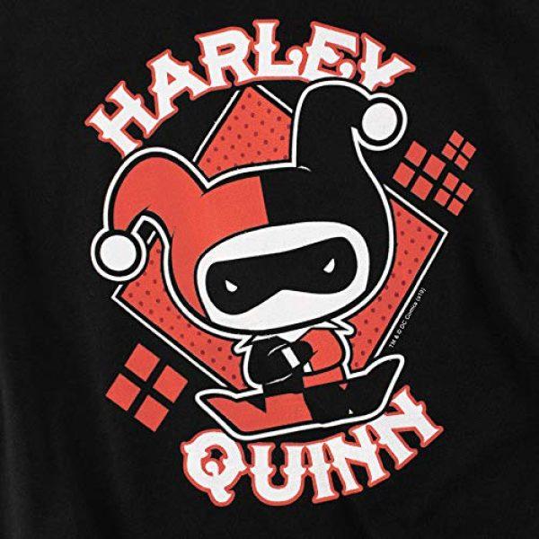 Popfunk Graphic Tshirt 5 Harley Quinn Chibi Women's T Shirt & Stickers