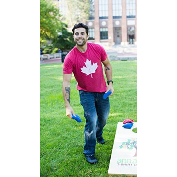 Ann Arbor T-shirt Co. Graphic Tshirt 5 Canada Pride   Vintage Style, Retro-Feel Canadian Maple Leaf Unisex T-Shirt