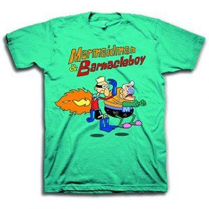 Nickelodeon Graphic Tshirt 1 Mens Spongebob Squarepants Classic Shirt - Spongebob, Patrick & Krusty Krab T-Shirt