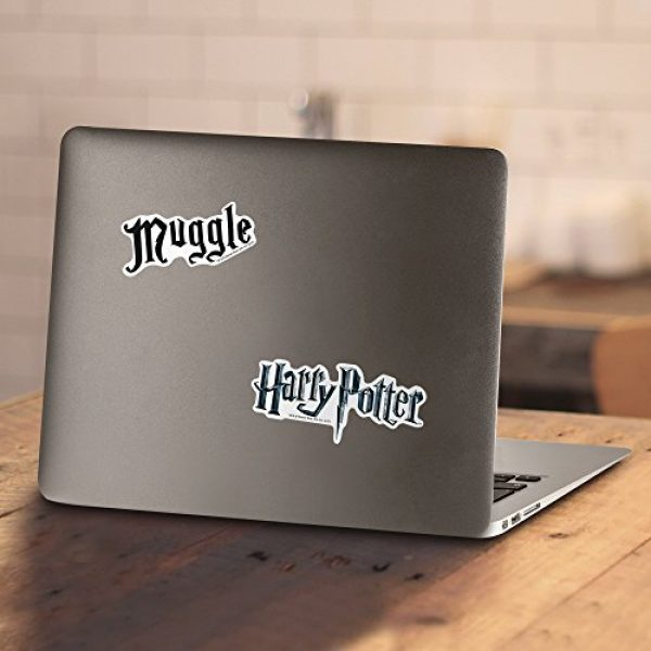 Popfunk Graphic Tshirt 4 Harry Potter Black Muggle T Shirt & Stickers