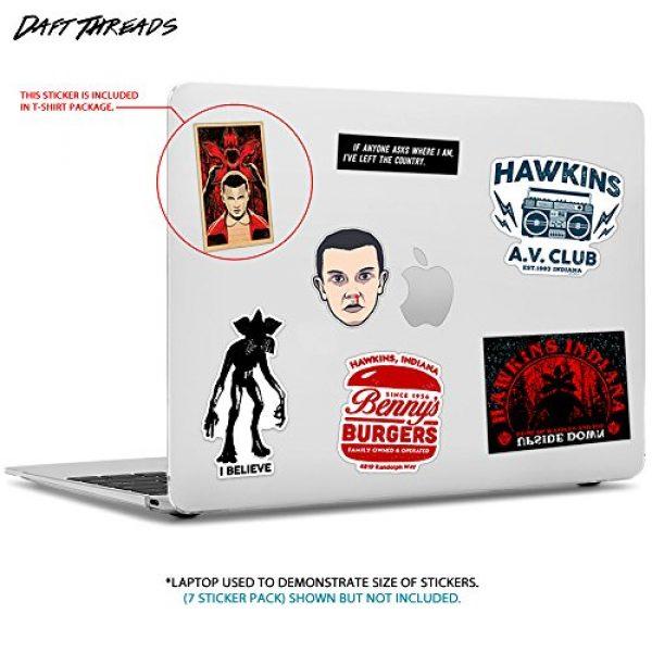Daft Threads Graphic Tshirt 2 ~ Hawkins A.V. Club T-Shirt Stranger & Things Upside Down Sticker