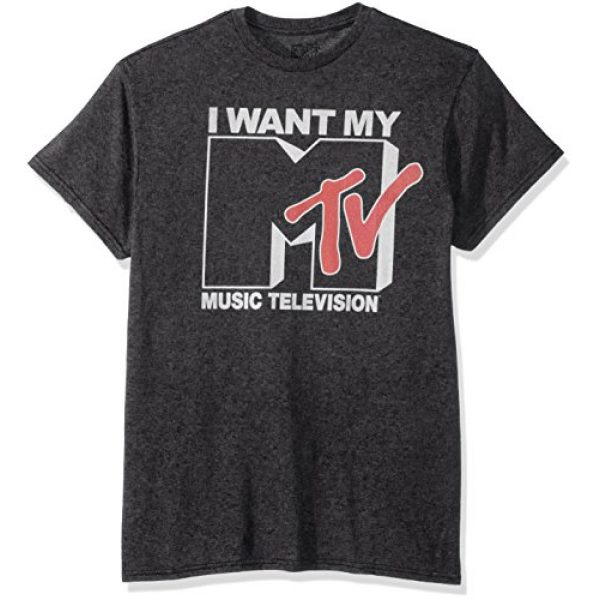 MTV Graphic Tshirt 1 Men's Want Logo T-Shirt
