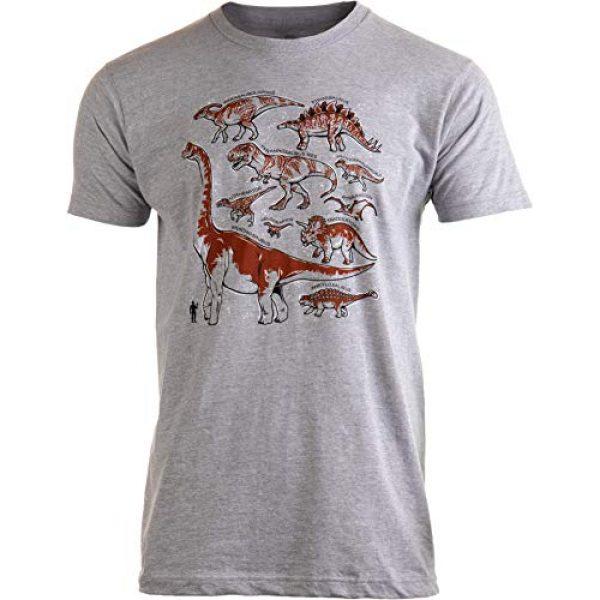 Ann Arbor T-shirt Co. Graphic Tshirt 1 Dinosaur Species | Dino Fan Party Costume T-Rex Raptor Shirt Men Women T-Shirt