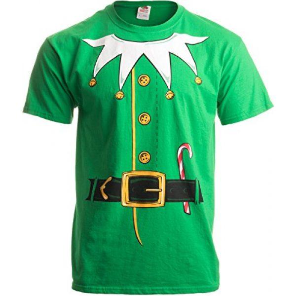 Ann Arbor T-shirt Co. Graphic Tshirt 4 Santa's Elf Costume   Jumbo Print Novelty Christmas Holiday Humor Unisex T-Shirt