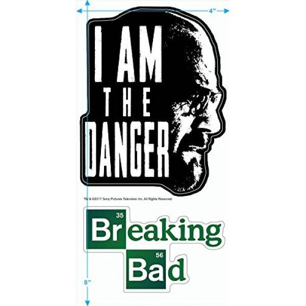 Popfunk Graphic Tshirt 3 Breaking Bad The Danger T Shirt & Stickers (Medium)