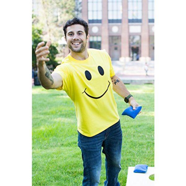 Ann Arbor T-shirt Co. Graphic Tshirt 5 Smiling Face   Cute, Positive, Happy Smile Fun Teacher T-Shirt for Men or Women