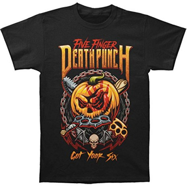 Five Finger Death Punch Graphic Tshirt 1 Men's GY6 Halloween T-Shirt
