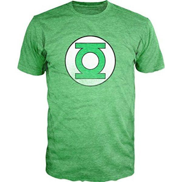 DC Comics Graphic Tshirt 2 Green Lantern Heather T-Shirt