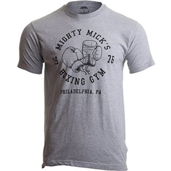 Ann Arbor T-shirt Co. Graphic Tshirt 1 Mighty Mick's Boxing Gym 1976 | Philadelphia Boxer Vintage Style Gloves T-Shirt