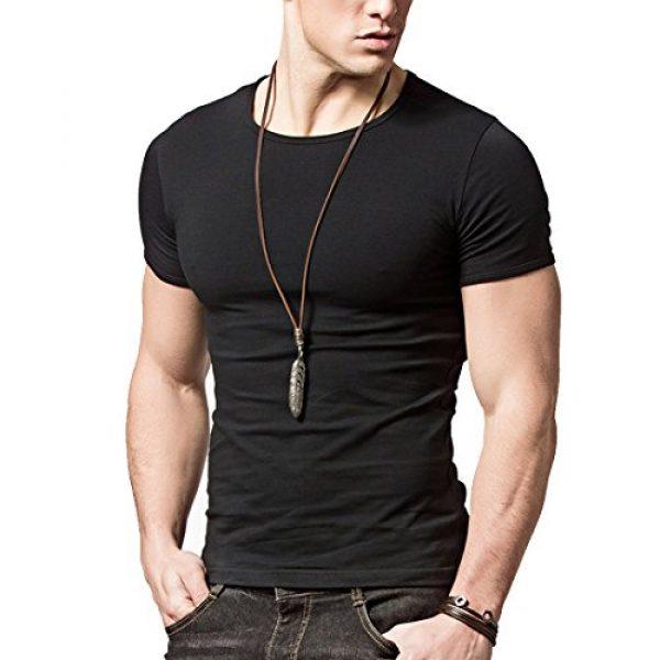 lalazaba Graphic Tshirt 4 Hyuling Mens Short Sleeves T-Shirt Crew-Neck2pack, 3pack