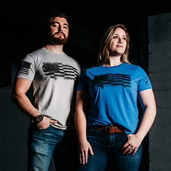 Grunt Style Graphic Tshirt 3 Bar Flag Men's T-Shirt