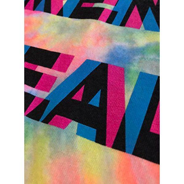 Ann Arbor T-shirt Co. Graphic Tshirt 6 Humans aren't Real | Funny Festival Hippy Rave Drug Tie Dye for Men or Women T-Shirt