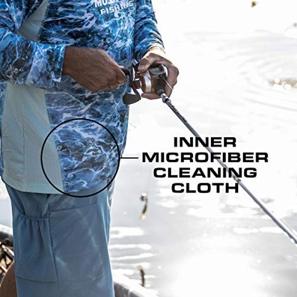 Mossy Oak Graphic Tshirt 6 HUK Mossy Oak Double Header Vented Fishing Long Sleeve Shirt, Mossy Oak Hydro Reflex, L
