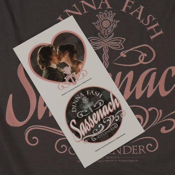 Popfunk Graphic Tshirt 6 Outlander Dinna Fash Sassenach T Shirt & Stickers