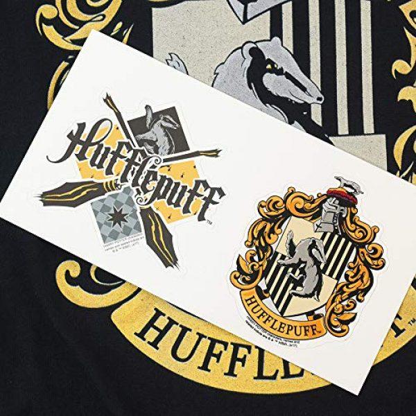Popfunk Graphic Tshirt 6 Harry Potter Hufflepuff Logo Adult Longsleeve T Shirt & Stickers