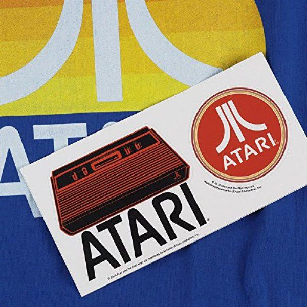 Popfunk Graphic Tshirt 6 Atari Video Game Retro Logo Vintage Gaming Console T Shirt & Stickers