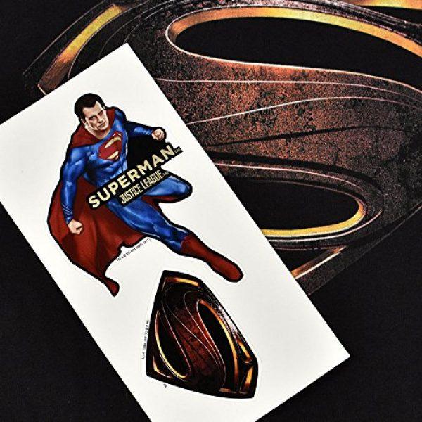 Popfunk Graphic Tshirt 6 Justice League Movie Superman Logo DC Comics T Shirt & Stickers