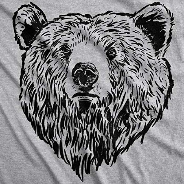 Crazy Dog T-Shirts Graphic Tshirt 3 Mens Grizzly Bear Flip T Shirt Funny Hug Shirt Humorous Novelty Tee Crazy Humor