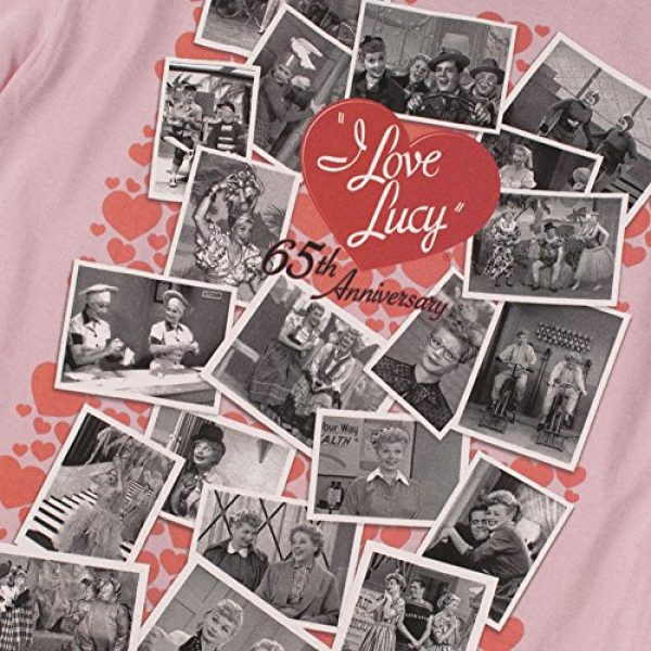 Popfunk Graphic Tshirt 5 I Love Lucy 65th Anniversary Collage T Shirt & Stickers