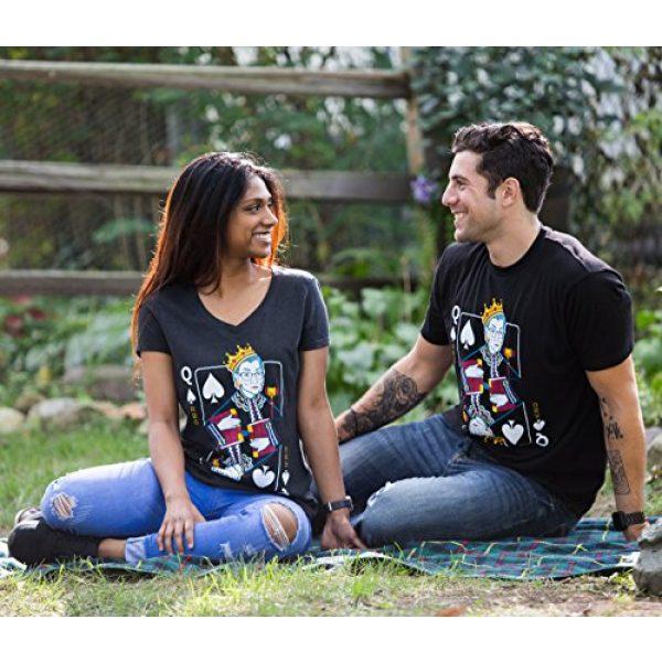 Ann Arbor T-shirt Co. Graphic Tshirt 5 Queen R.B.G. Funny Progressive Liberal Ruth Bader Ginsburg Unisex RBG T-Shirt