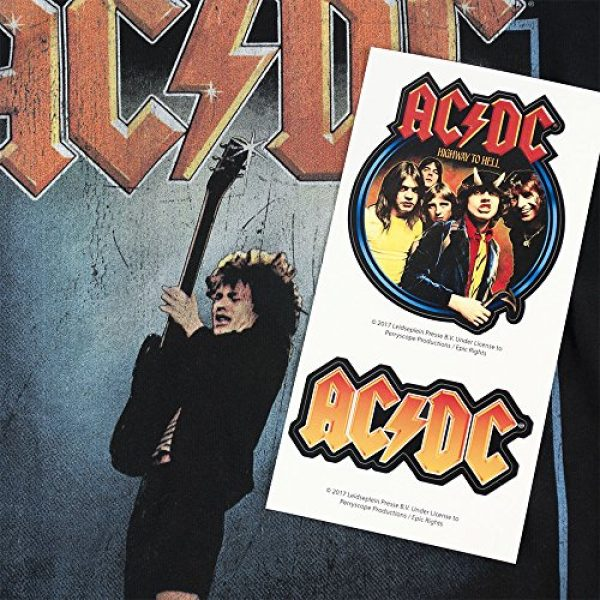 Popfunk Graphic Tshirt 6 ACDC Let There Be Rock Album T Shirt & Stickers