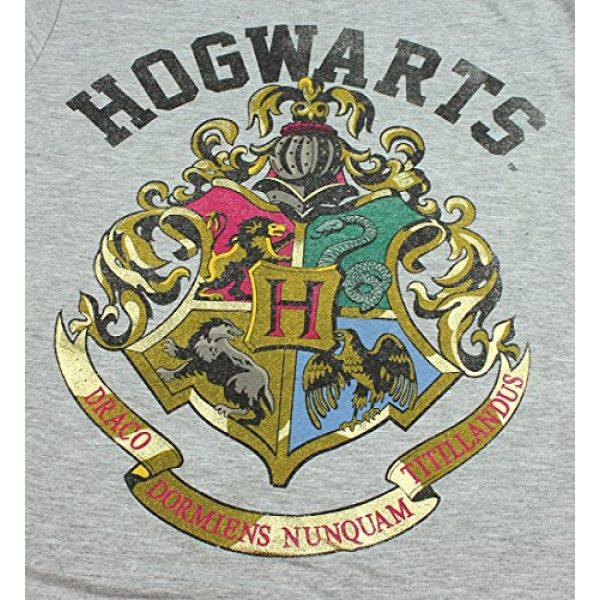 Bioworld Graphic Tshirt 2 Harry Potter Girls' Distressed Hogwarts School Crest Logo T-Shirt