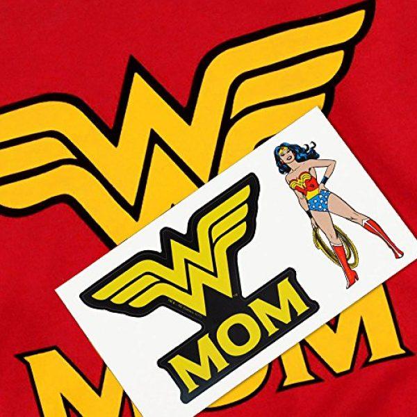 Popfunk Graphic Tshirt 6 Wonder Woman Wonder Mom DC Comics T Shirt & Stickers