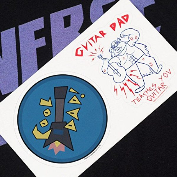 Popfunk Graphic Tshirt 6 Steven Universe Mr. Universe Cartoon Network T Shirt & Stickers