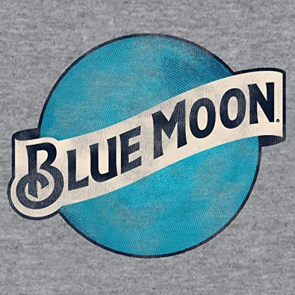 Tee Luv Graphic Tshirt 2 Blue Moon Big and Tall Shirt - Distressed Blue Moon Beer Logo T-Shirt