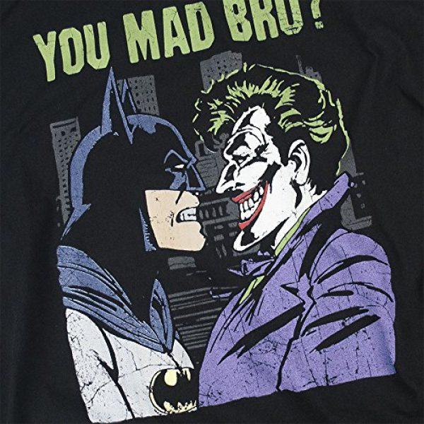 Popfunk Graphic Tshirt 5 Batman Vs.The Joker You Mad Bro T Shirt and Stickers