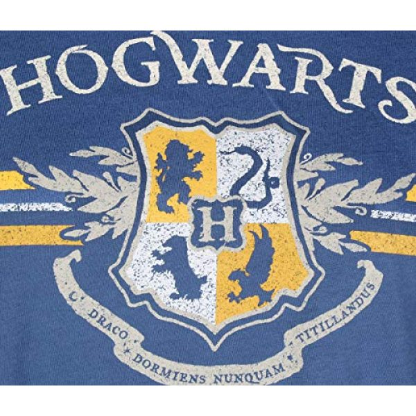 Bioworld Graphic Tshirt 2 Juniors' Harry Potter Hogwarts Crest Short-Sleeve T-Shirt