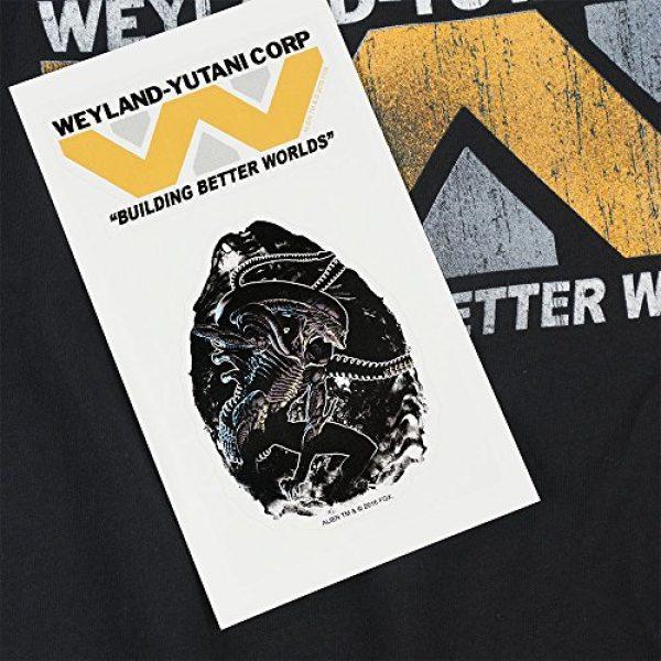 Popfunk Graphic Tshirt 6 Alien Movie Weyland-Yutani The Company T Shirt & Stickers